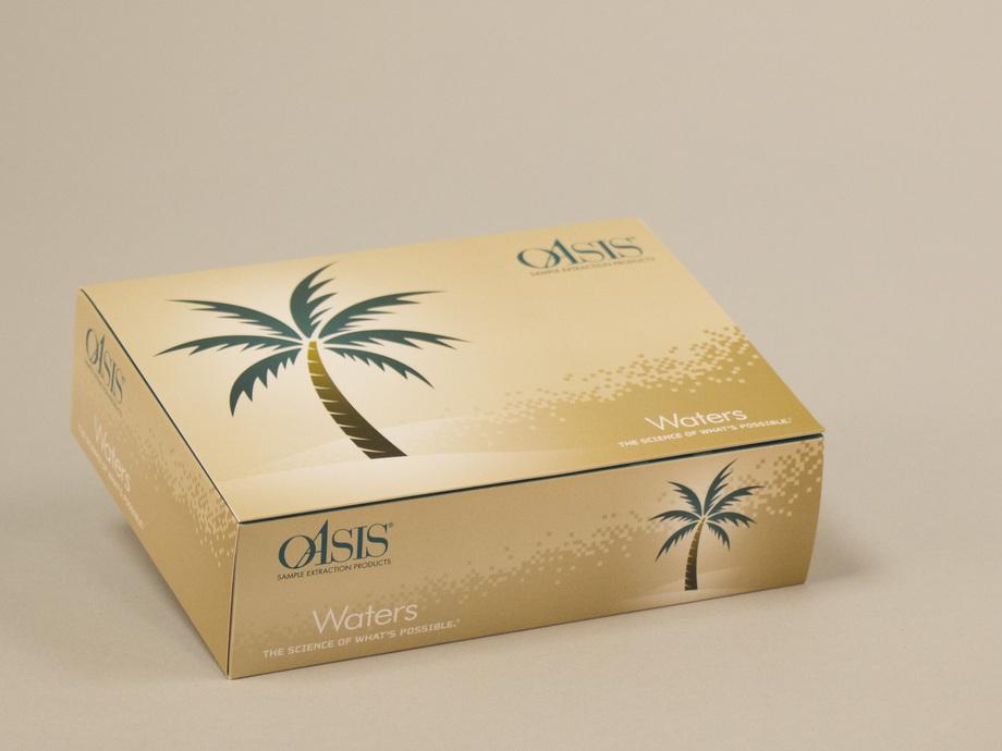 Waters Corporation Oasis Telescoping Box Mailer