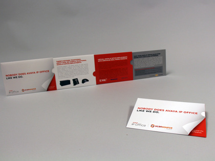 Avaya 3-Pull Telescoping Folder Mailer Thumb Image