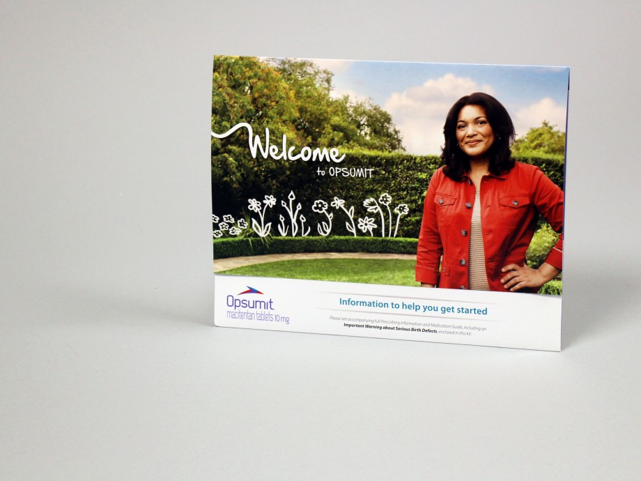 Opsumit Patient Welcome Kit | Structural Graphics