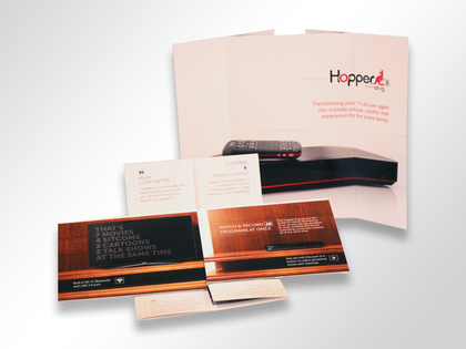 Dish Networks Flapper Direct Mail Promotion Thumb Image