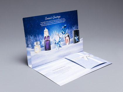 Thierry Mugler Holiday Card Thumb Image