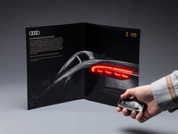 2018 Audi A8 Magazine Insert with LEDs Image