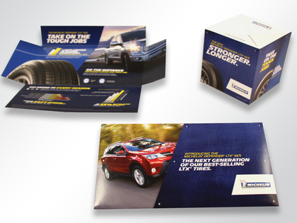 Michelin Pop-Up Cube Mailer Thumb Image