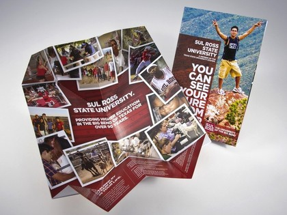 Sul Ross State University Exploding Page Recruitment Mailer Thumb Image