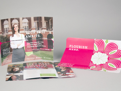 Sweet Briar College Direct Mail Flapper Thumb Image