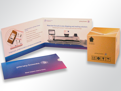 Pitney Bowes Pop-Up Cube Mailer Thumb Image