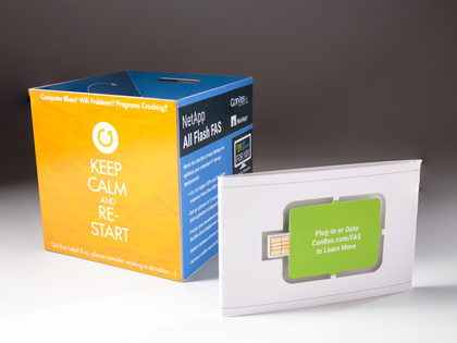 NetApp Pop-Up Cube with Web Key Thumb Image