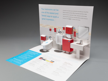 Cintas Staged Pop Up Bathroom Mailer Thumb Image
