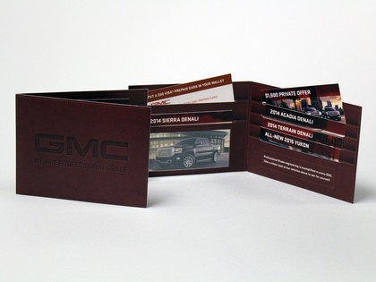 GMC Professional Grade Vehicle Promo Wallet Thumb Image