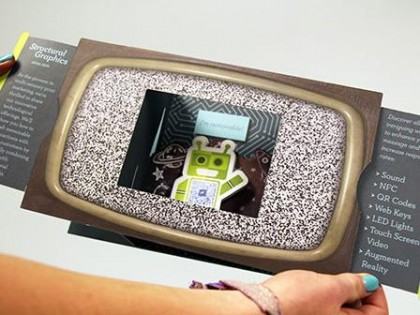 Technology Augmented Reality Shadow Box Mailer Thumb Image