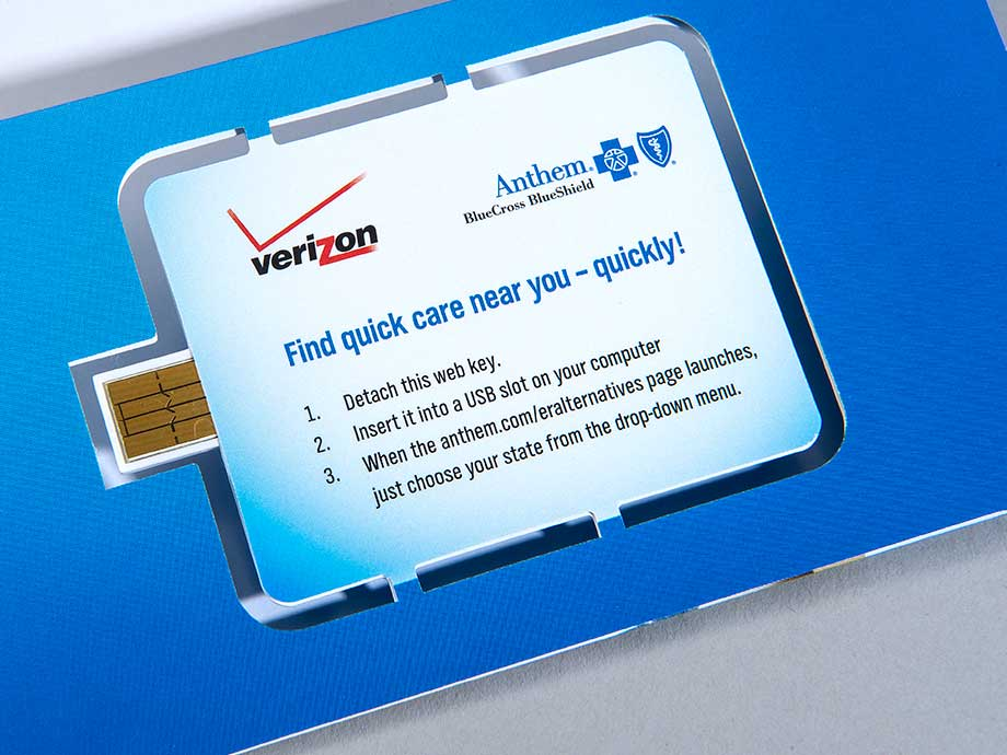 Anthem Blue Cross Blue Shield Web Key Mailer