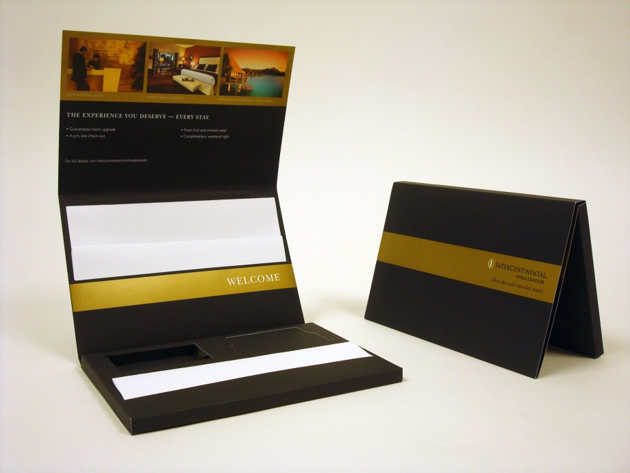Intercontinental Ambassador Welcome Kit Structural Graphics
