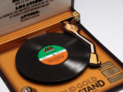 Frontline Insurance Sound Chip Record Player Invite Thumb Image