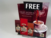Eight O'Clock Coffee Lenticular Display Thumb Image