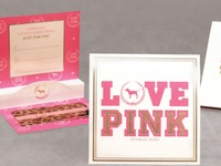 Victoria's Secret Pink Gift Card Holder Thumb Image