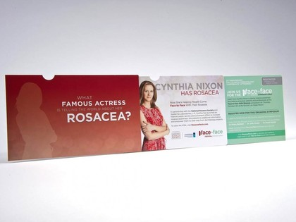 National Rosacea Society Invitation with QR Code Thumb Image