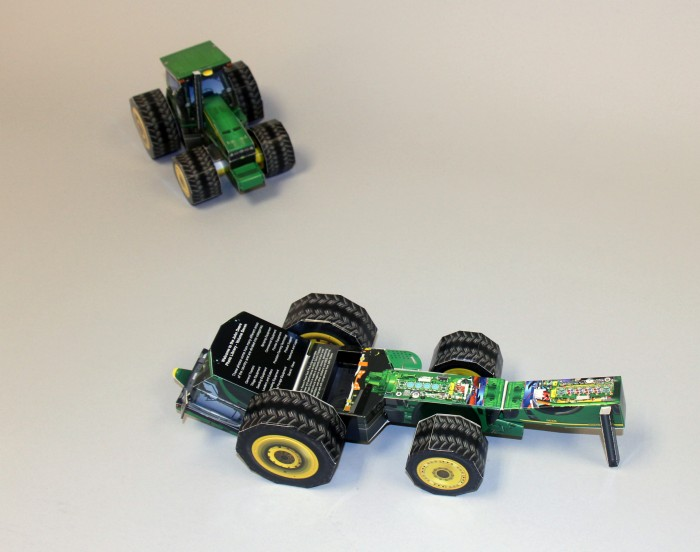 John Deere promotional packaging by Structural Graphics