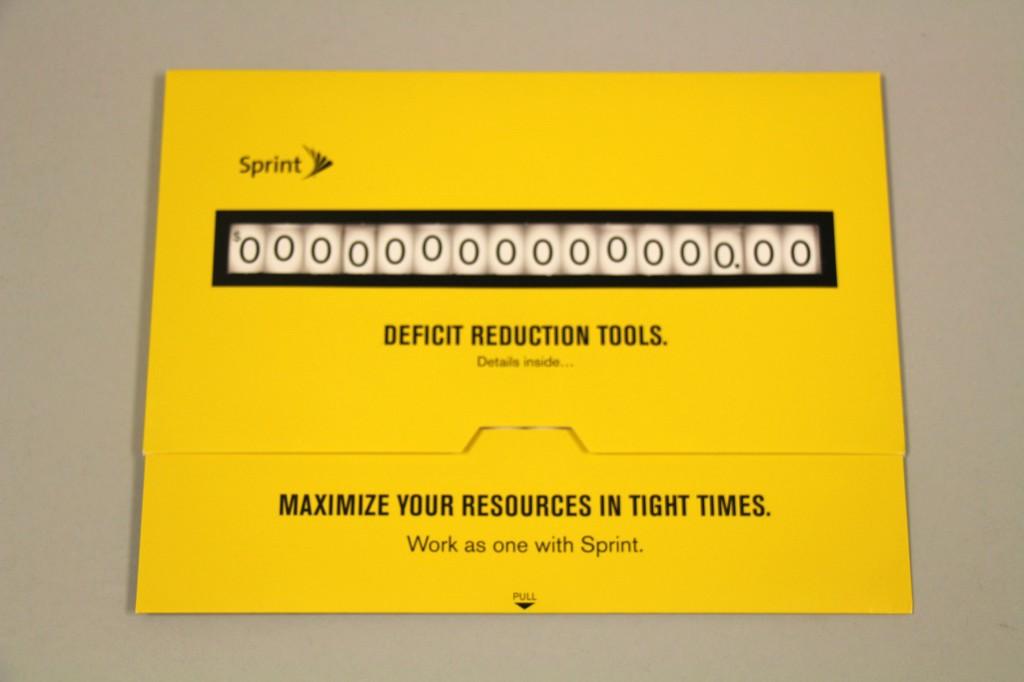 Sprint Deficit Slider open by Structural Graphics