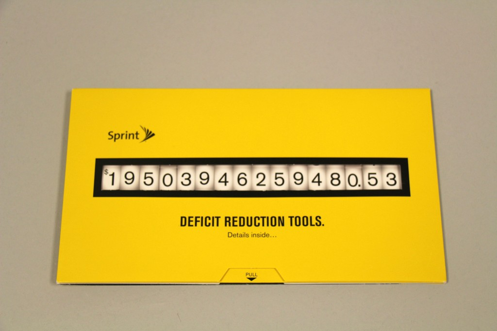 Sprint Deficit Slider by Structural Graphics