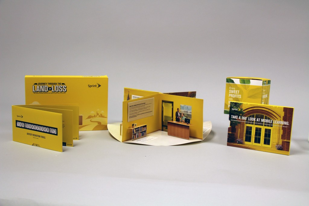 Sprint multiwave campaign by Structural Graphics