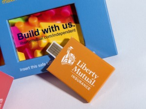 Liberty Mutual Web Key by Structural Graphics