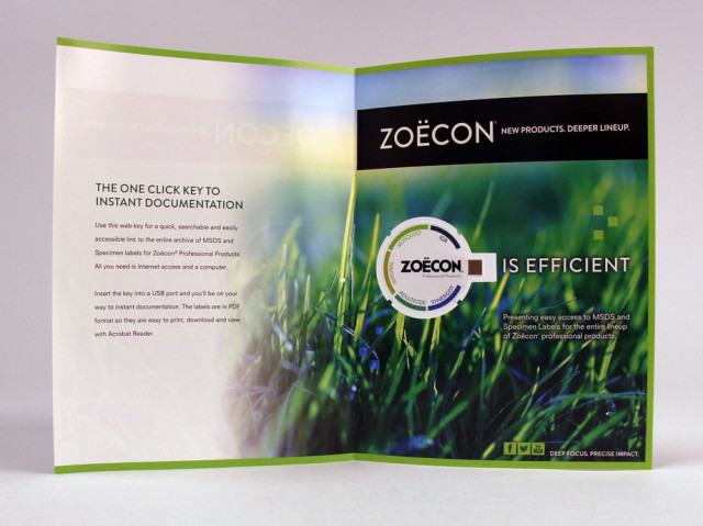 Zoecon Web Key Magazine Insert