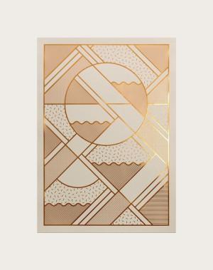 Limited edition letterpress print via www.kkrogh.dk.