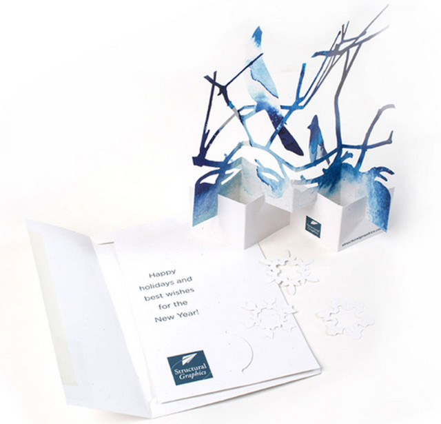2012 Holiday Card Design ll Structural Graphics