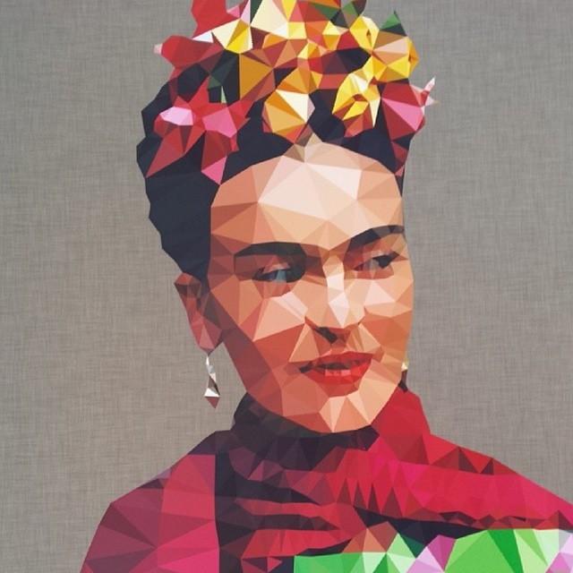 Art print Studio Cockatoo / The Frida Kahlo Corporation.