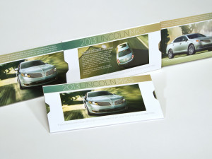 Direct Mailer for Lincoln MKS