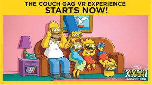 Simpsons Virtural Reality   Structural Graphics