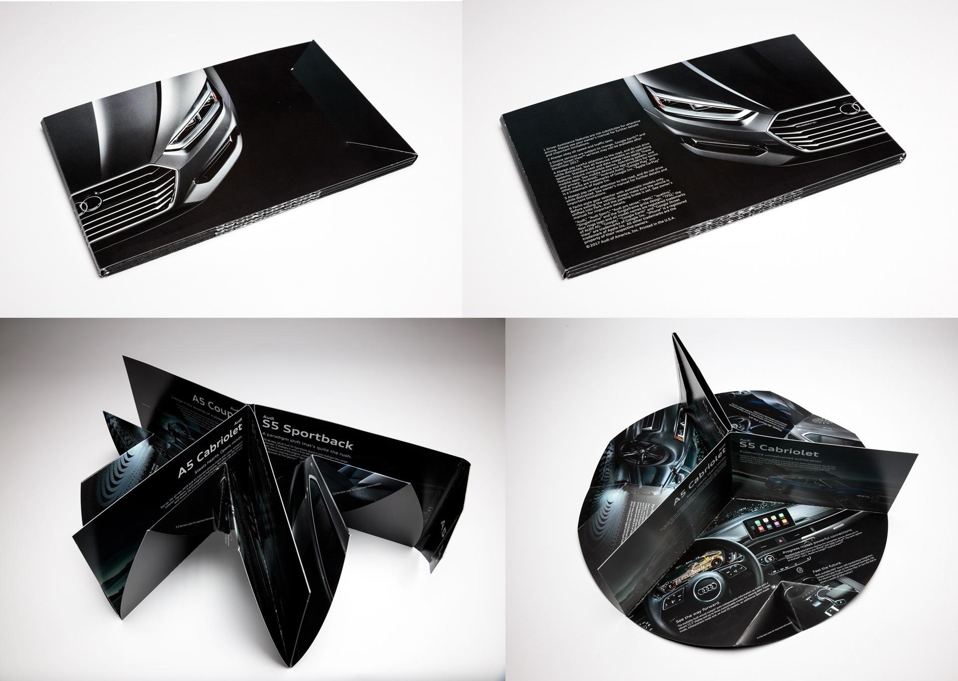Audi Circle Brochure Structural Graphics Paper Engineering - Audi circle